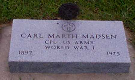 MADSEN, CARL MARTH - Audubon County, Iowa | CARL MARTH MADSEN