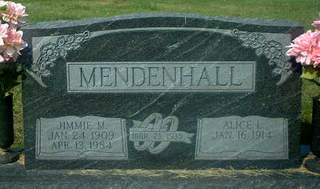 MENDENHALL, JIMMIE M. - Audubon County, Iowa | JIMMIE M. MENDENHALL