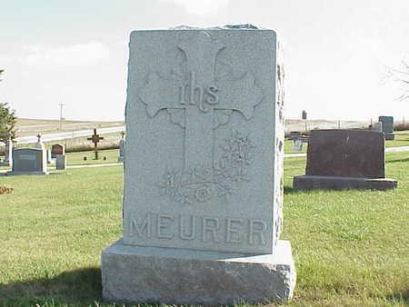 MEURER, ANTHONY - Audubon County, Iowa | ANTHONY MEURER