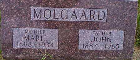 MOLGAARD, MARIE - Audubon County, Iowa   MARIE MOLGAARD