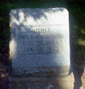 MORTENSEN, ANNIE K. - Audubon County, Iowa | ANNIE K. MORTENSEN