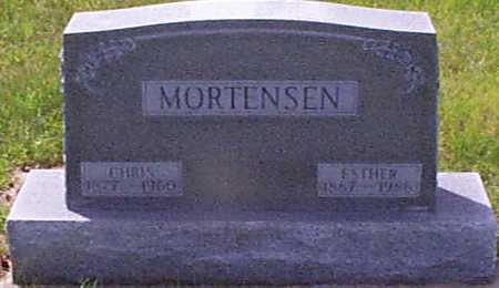 MORTENSEN, CHRIS - Audubon County, Iowa | CHRIS MORTENSEN