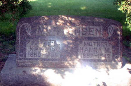 SPIRUP MORTENSEN, HANNA MARIE - Audubon County, Iowa | HANNA MARIE SPIRUP MORTENSEN