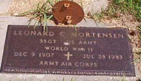 MORTENSEN, LEONARD C - Audubon County, Iowa | LEONARD C MORTENSEN