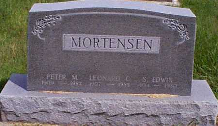 MORTENSEN, PETER M - Audubon County, Iowa | PETER M MORTENSEN