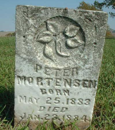 MORTENSEN, PETER - Audubon County, Iowa   PETER MORTENSEN
