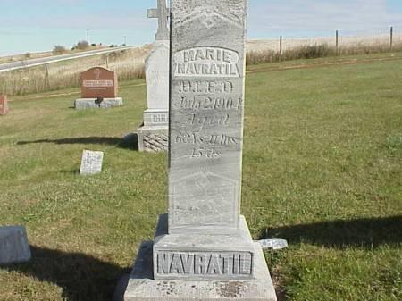NAVRATIL, MARIE - Audubon County, Iowa | MARIE NAVRATIL