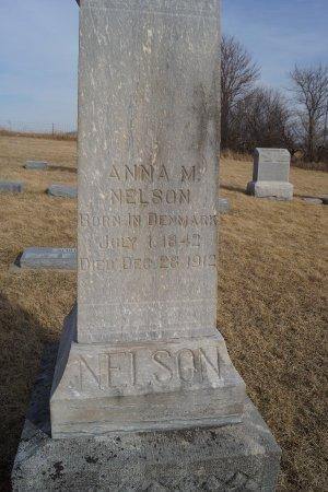 NELSON, ANNA M - Audubon County, Iowa   ANNA M NELSON