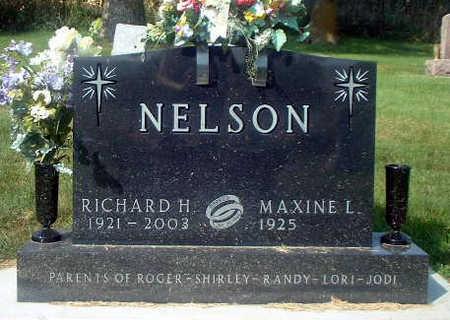 NELSON, RICHARD H. - Audubon County, Iowa   RICHARD H. NELSON