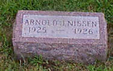 NISSEN, ARNOLD - Audubon County, Iowa   ARNOLD NISSEN
