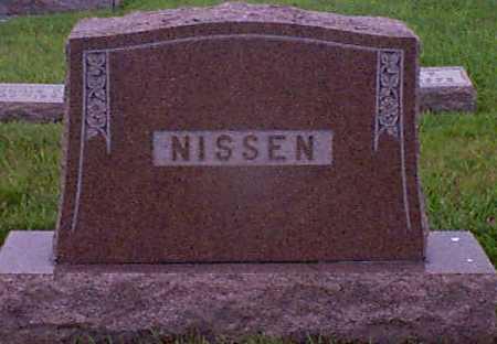 NISSEN, HANS - Audubon County, Iowa   HANS NISSEN