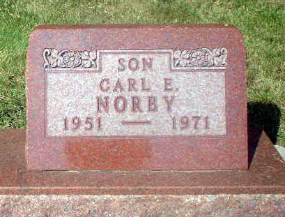 NORBY, CARL E. - Audubon County, Iowa | CARL E. NORBY