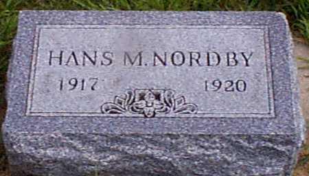 NORDBY, HANS M - Audubon County, Iowa | HANS M NORDBY
