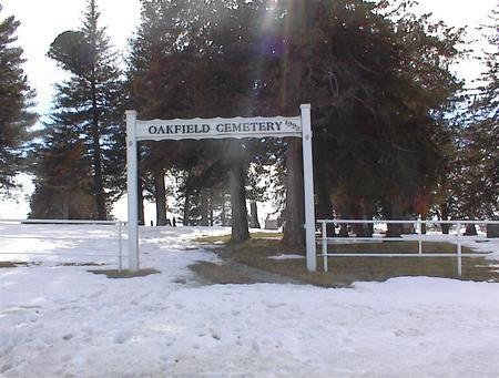 OAKFIELD (EXIRA TWP.), CEMETERY - Audubon County, Iowa | CEMETERY OAKFIELD (EXIRA TWP.)