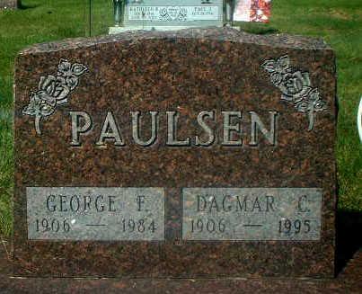 PAULSEN, GEORGE F. - Audubon County, Iowa   GEORGE F. PAULSEN
