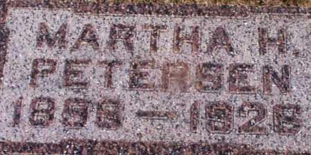 PETERSEN, MARTHA H - Audubon County, Iowa | MARTHA H PETERSEN