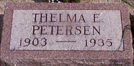 PETERSEN, THELMA E - Audubon County, Iowa | THELMA E PETERSEN