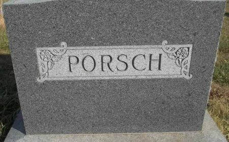 PORSCH, FAMILY MONUMENT - Audubon County, Iowa   FAMILY MONUMENT PORSCH