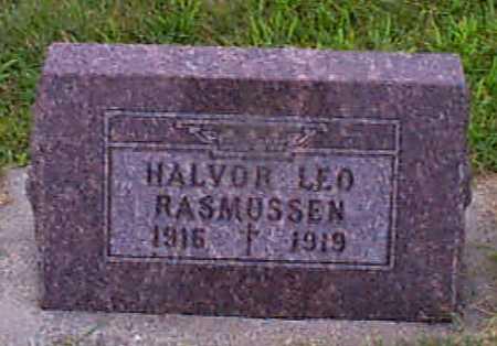 RASMUSSEN, HALVOR LEO - Audubon County, Iowa   HALVOR LEO RASMUSSEN