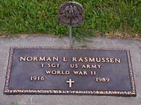 RASMUSSEN, NORMAN LEE - Audubon County, Iowa | NORMAN LEE RASMUSSEN