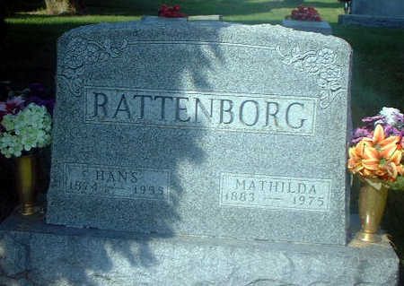 RATTENBORG, HANS - Audubon County, Iowa | HANS RATTENBORG