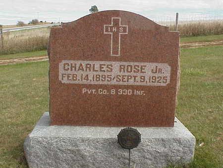 ROSE., CHARLES JR. - Audubon County, Iowa | CHARLES JR. ROSE.