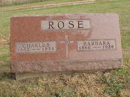 ROSE,  BARBARA - Audubon County, Iowa |  BARBARA ROSE