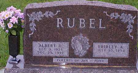 RUBEL, ALBERT DEAN - Audubon County, Iowa | ALBERT DEAN RUBEL