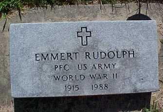 RUDOLPH, EMMERT - Audubon County, Iowa   EMMERT RUDOLPH