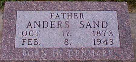 SAND, ANDERS - Audubon County, Iowa | ANDERS SAND