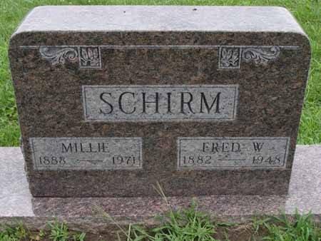 SCHIRM, FRED W - Audubon County, Iowa | FRED W SCHIRM