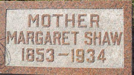 SHAW, MARGARET - Audubon County, Iowa   MARGARET SHAW