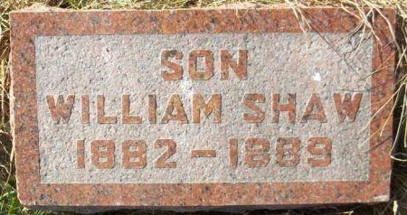 SHAW, WILLIAM - Audubon County, Iowa | WILLIAM SHAW