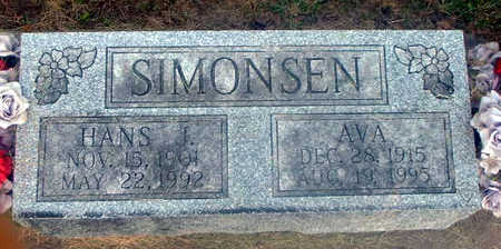 SIMONSEN, AVA - Audubon County, Iowa | AVA SIMONSEN