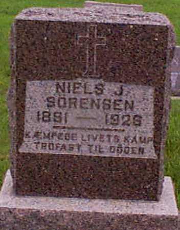 SORENSEN, NIELS J - Audubon County, Iowa | NIELS J SORENSEN