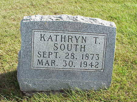 SOUTH, KATHRYN T. - Audubon County, Iowa | KATHRYN T. SOUTH