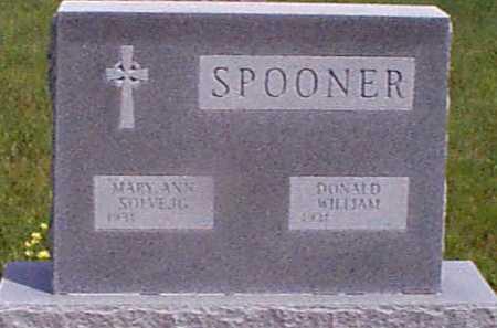 SPONNER, DONALD WILLIAM - Audubon County, Iowa | DONALD WILLIAM SPONNER