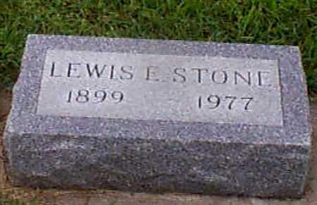 STONE, LEWIS E - Audubon County, Iowa   LEWIS E STONE