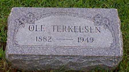 TERKELSEN, OLE - Audubon County, Iowa   OLE TERKELSEN