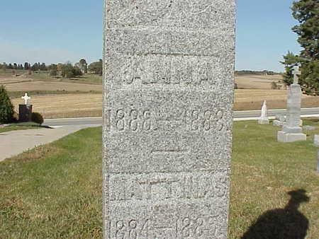THIELEN, ANNA   (ANNA  MARY) - Audubon County, Iowa | ANNA   (ANNA  MARY) THIELEN