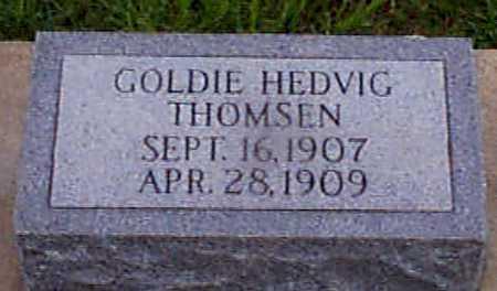 THOMSEN, GOLDIE HEDVIG - Audubon County, Iowa   GOLDIE HEDVIG THOMSEN