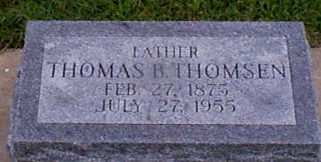THOMSEN, THOMAS B - Audubon County, Iowa | THOMAS B THOMSEN