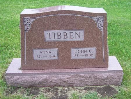TIBBEN, ANNA - Audubon County, Iowa | ANNA TIBBEN