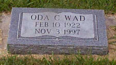 WAD, ODA C - Audubon County, Iowa | ODA C WAD