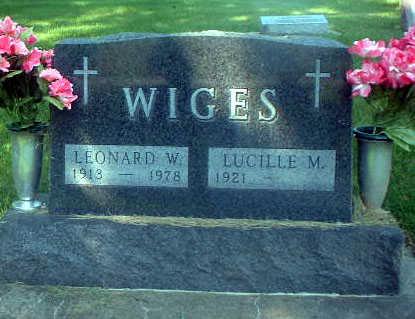 WIGES, LEONARD - Audubon County, Iowa | LEONARD WIGES
