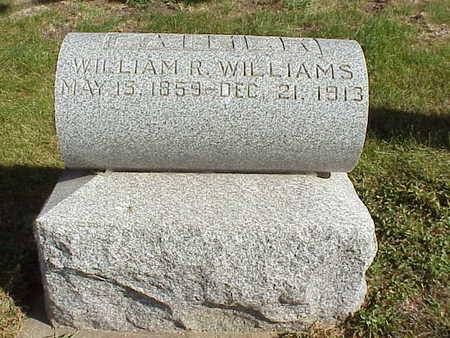 WILLIAMS, WILLIAM R. - Audubon County, Iowa | WILLIAM R. WILLIAMS