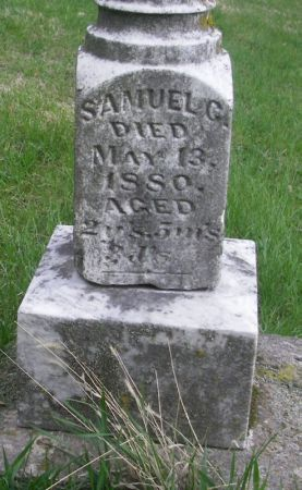 STICK, SAMUEL G. - Benton County, Iowa | SAMUEL G. STICK