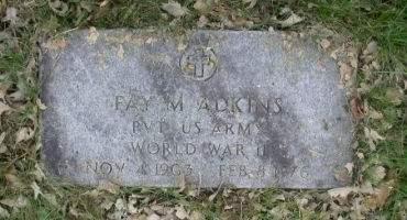 ADKINS, FAY M. - Benton County, Iowa | FAY M. ADKINS