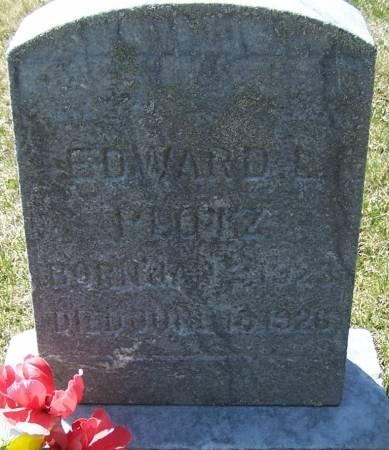PLOTZ, EDWARD L - Benton County, Iowa | EDWARD L PLOTZ