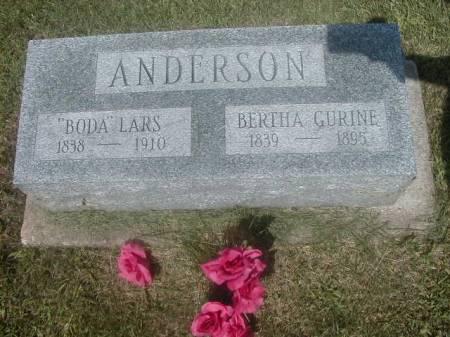 ANDERSON, BERTHA GURINE - Benton County, Iowa | BERTHA GURINE ANDERSON